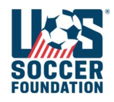 US Soccer Foundation Grant